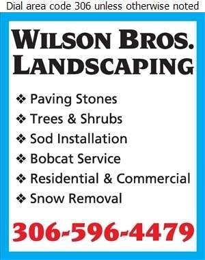 Wilson Brothers Landscaping - Landscape Contractors & Designers Digital Ad