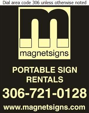 Magnetsigns Regina - Signs Digital Ad