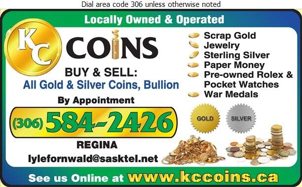 KC Coins - Coin Dealers Digital Ad