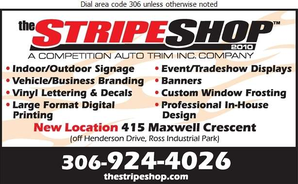 The Stripe Shop - Signs Digital Ad