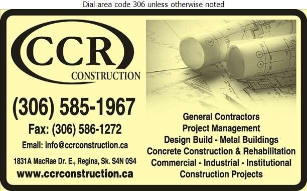 CCR Construction Ltd - Contractors General Digital Ad