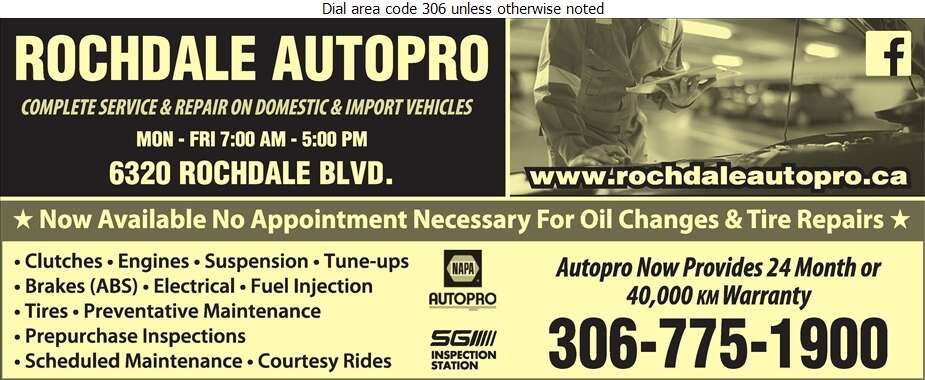 Rochdale Autopro - Auto Repairing Digital Ad
