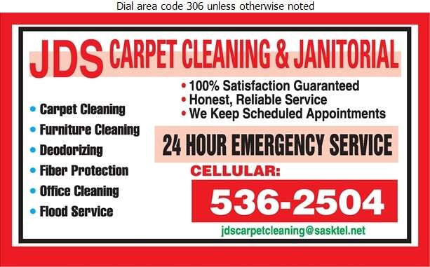 JDS Carpet Cleaning & Janitorial - Carpet & Rug Cleaners Digital Ad