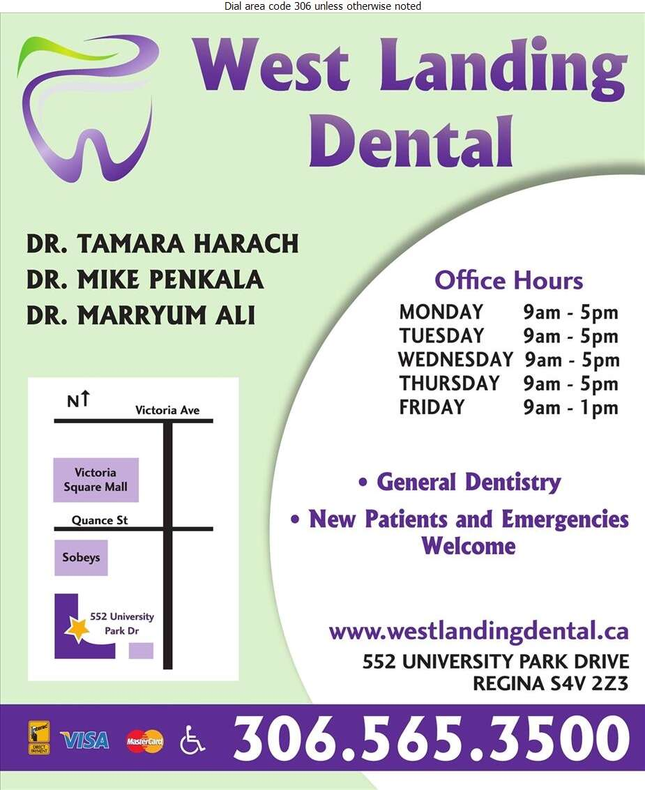 West Landing Dental Centre - Dentists Digital Ad