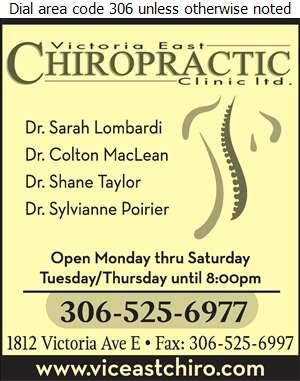 Victoria East Chiropractic Clinic - Chiropractors Digital Ad