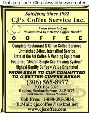 C J's Coffee Service Inc - Coffee Break Service & Supplies Digital Ad