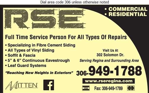 RSE - Eavestroughing Digital Ad