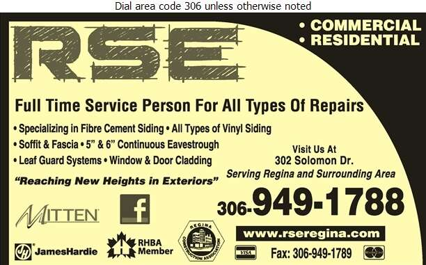 RSE Exteriors Ltd - Siding Digital Ad
