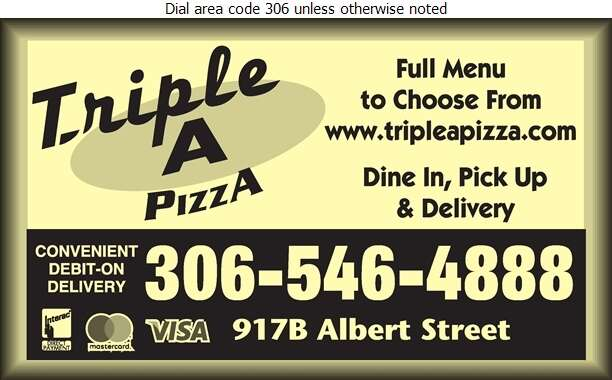 Triple A Pizza - Pizza Digital Ad
