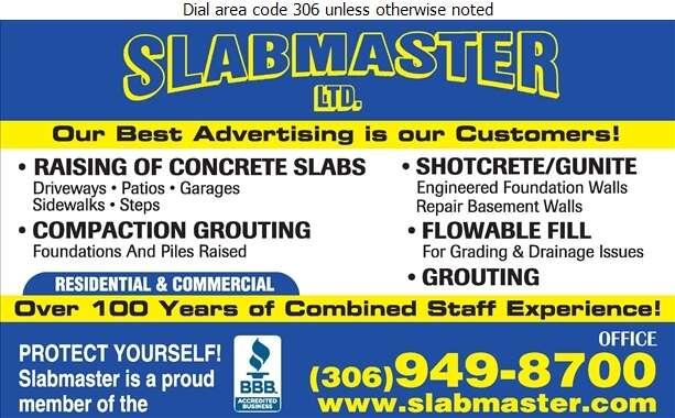 Slabmaster - Foundation Contractors Digital Ad