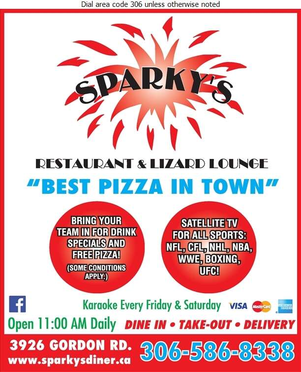 Sparky's Family Restaurant - Restaurants Digital Ad