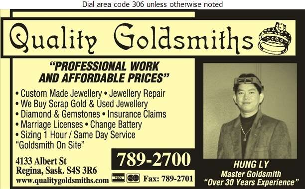 Quality Goldsmith - Jewellers Retail Digital Ad