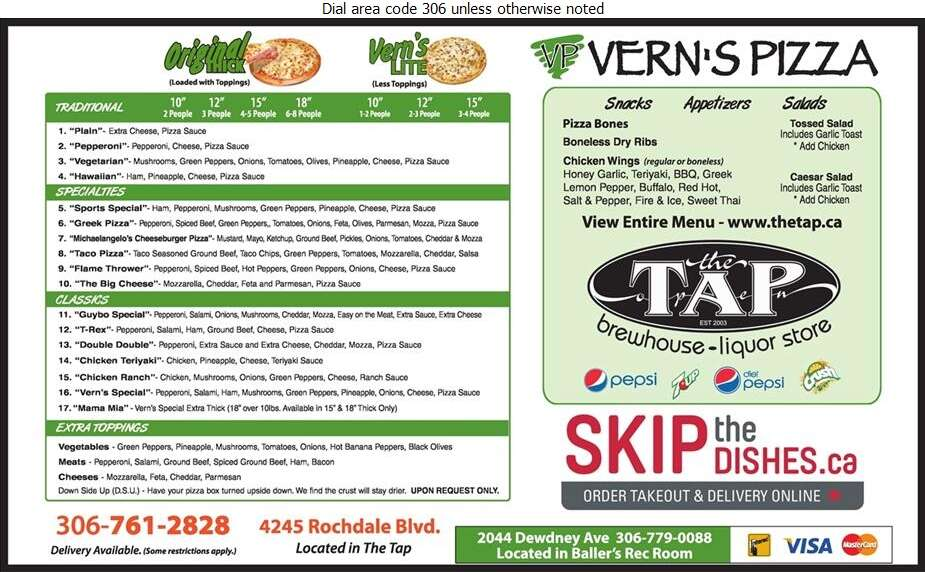 Vern's Pizza - Pizza Digital Ad
