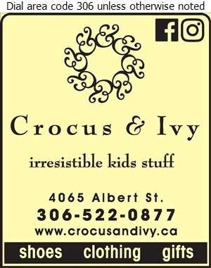 Crocus & Ivy - Children's & Infants' Wear & Furniture Digital Ad