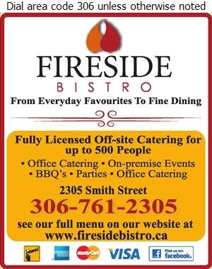Fireside Bistro - Caterers Digital Ad