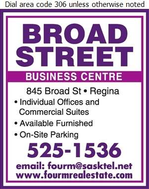 Broad Street Business Centre - Office & Desk Space Rental Service Digital Ad
