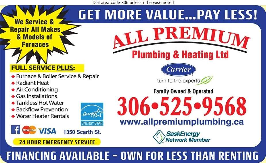 All Premium Plumbing & Heating Ltd - Plumbing Contractors Digital Ad