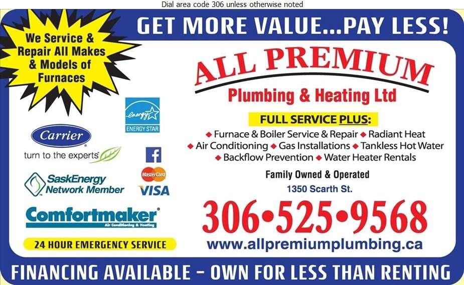 All-Premium Plumbing & Heating Ltd - Plumbing Contractors Digital Ad