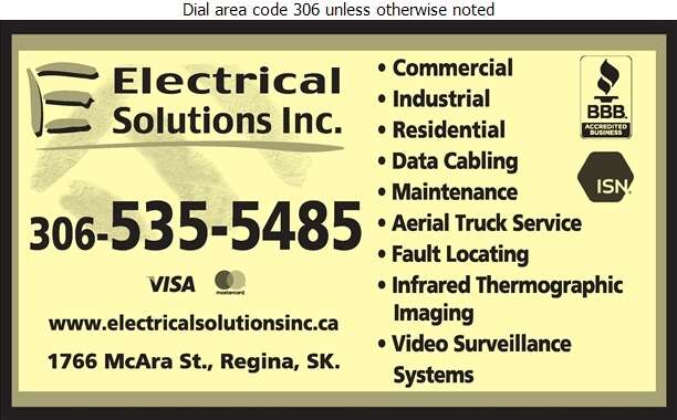 Electrical Solutions - Electric Contractors Digital Ad