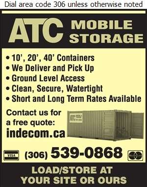 A T C Mobile Storage - Storage- Household & Commercial Digital Ad