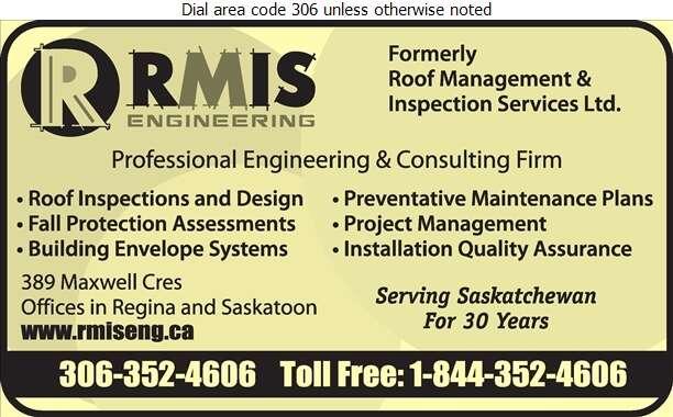 RMIS Engineering - Roofing Consultants Digital Ad
