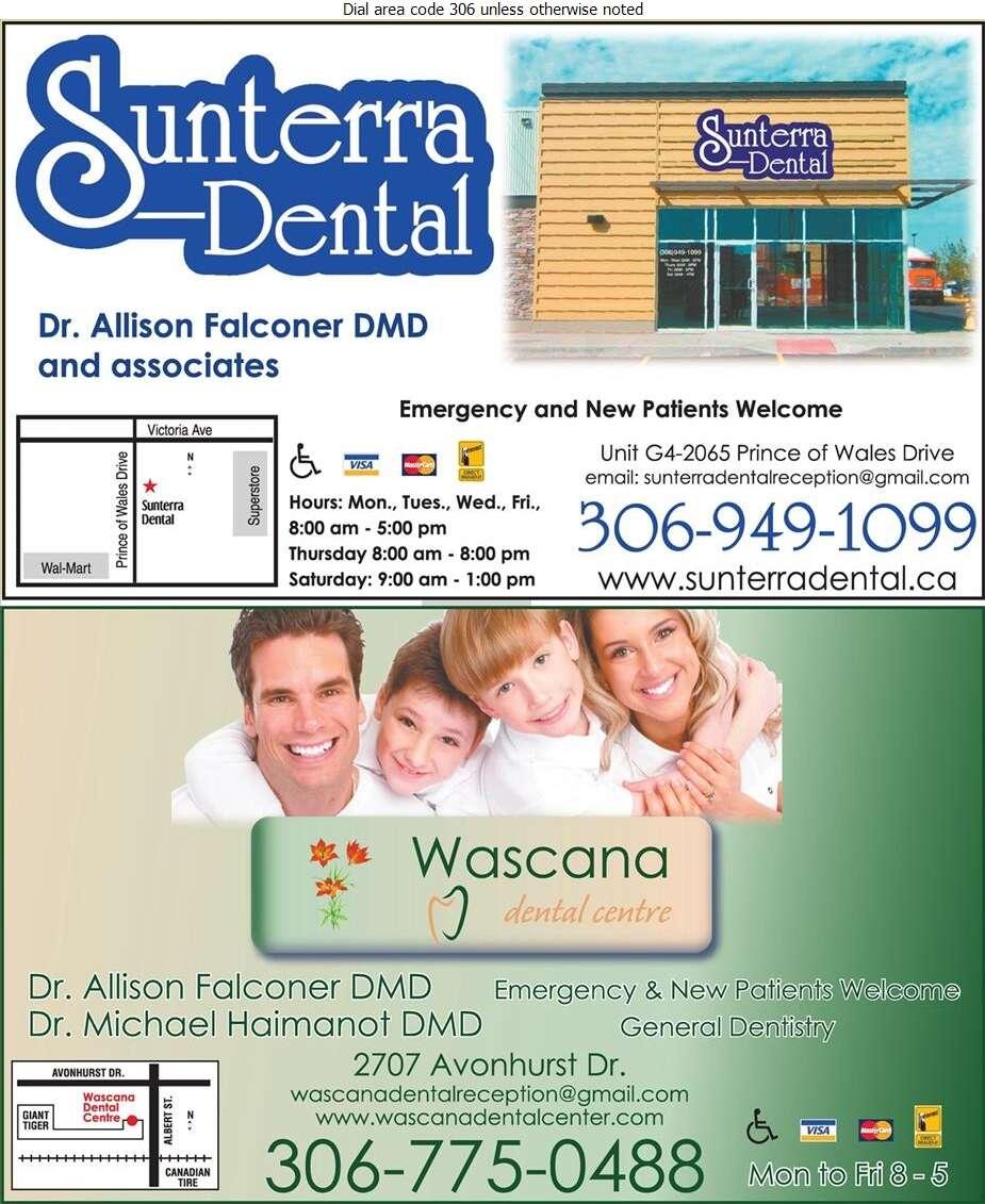 Wascana Dental Centre - Dentists Digital Ad