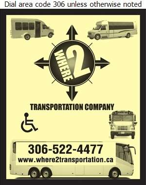 Where 2 Transportation - Bus Lines Digital Ad