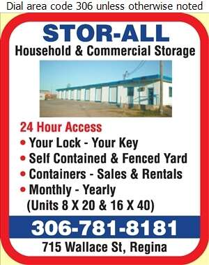 Sterling Stor-All - Storage- Household & Commercial Digital Ad