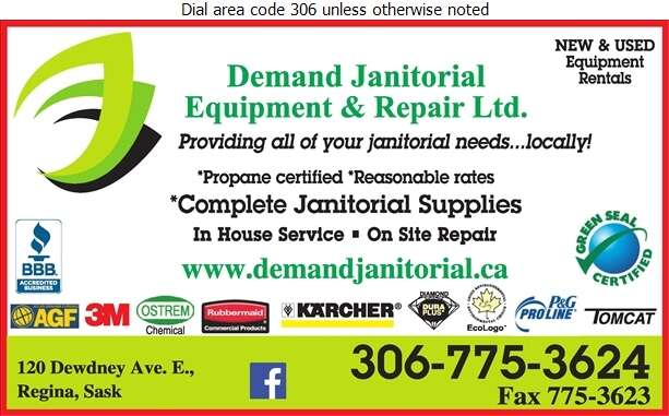 Demand Janitorial Equip Repair - Janitors' Supplies Digital Ad
