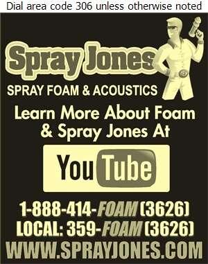 Spray Jones Inc - Insulation Contractors Cold & Heat Digital Ad