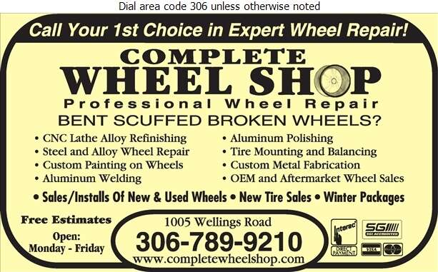 Complete Wheel Shop - Wheels Digital Ad