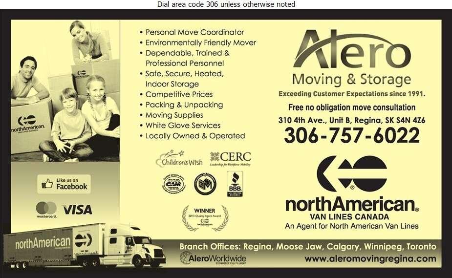 Alero Moving & Storage - Movers Digital Ad