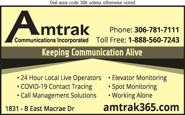 Amtrak Communications Incorporated - Telephone Answering Service Digital Ad