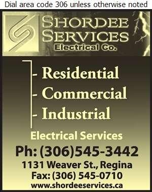 Shordee Services - Electric Contractors Digital Ad