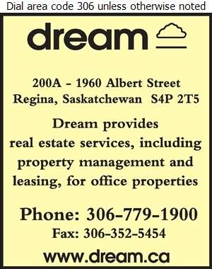 Dream Office Management (Sask) Corp (Formerly Dundee Realty Management Sask Corp.) - Property Management Digital Ad