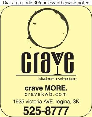 Crave Kitchen + Wine Bar - Restaurants Digital Ad