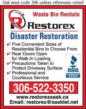 Restorex Disaster Restoration - Garbage Collection Digital Ad