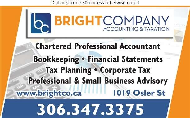 Bright Company Accounting & Taxation - Accountants Chartered Professional Digital Ad
