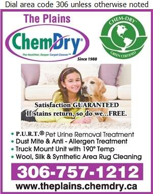 The Plains Chem-Dry - Carpet & Rug Cleaners Digital Ad