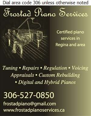 Frostad Piano Services - Pianos Tuning & Repairing Digital Ad