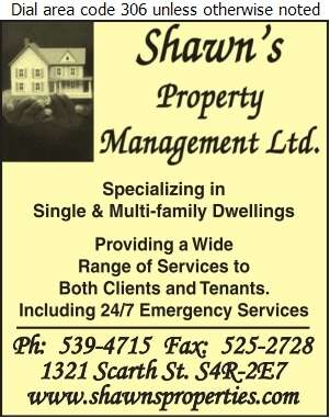 Shawn's Property Management Ltd - Property Management Digital Ad