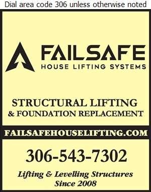 Fail Safe House Lifting Systems Inc - House Lifting Digital Ad