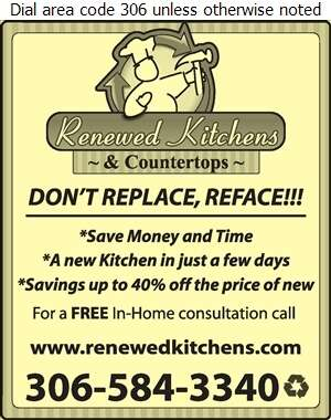 Renewed Kitchens - Kitchen Cabinets & Equipment Digital Ad