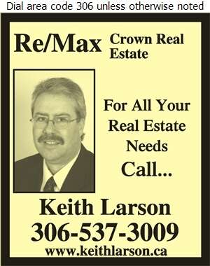 RE/MAX Crown Real Estate Keith Larson - Real Estate Digital Ad