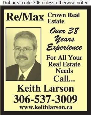 RE/MAX Crown Real Estate Keith Larson - Real Estate Digital Ad