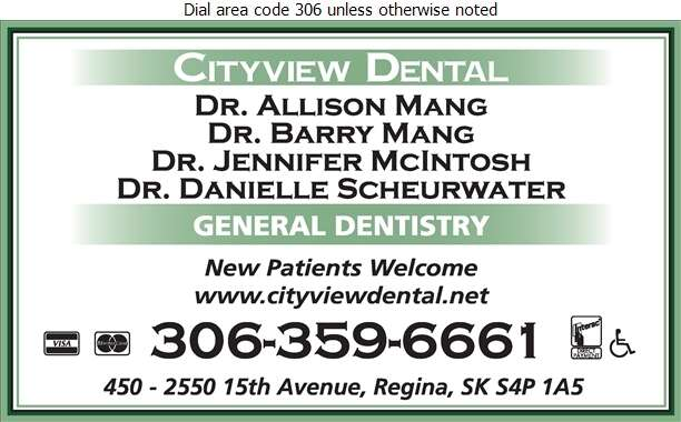 Mang Barry & Mang Allison Drs - Dentists Digital Ad