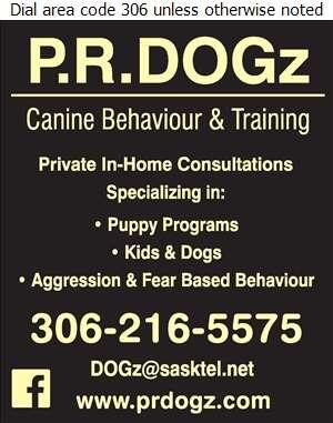 P R Dogz Training & Store - Dog Training Digital Ad