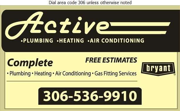 Active Mechanical - Plumbing Contractors Digital Ad