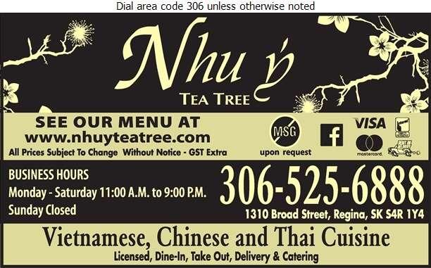 Nhu Y Tea Tree - Chinese Foods Digital Ad