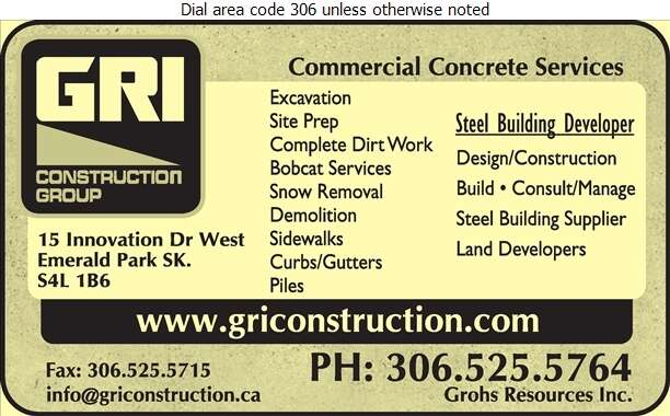 GRI Construction Group - Contractors General Digital Ad